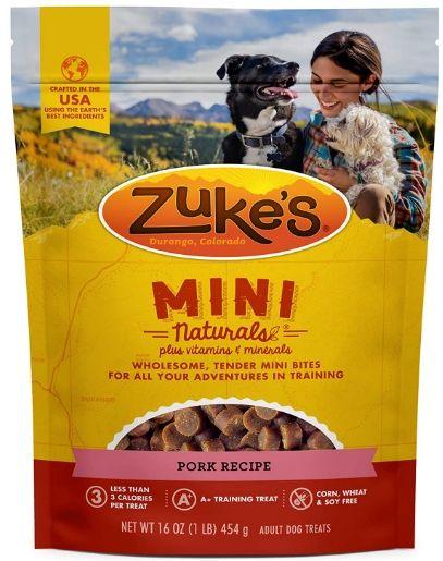 Zukes Mini Natural Treats