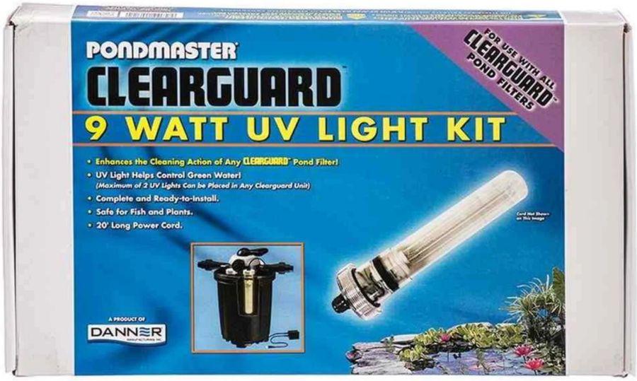 Pondmaster pondmaster clearguard filter uv light for Pond filter kit