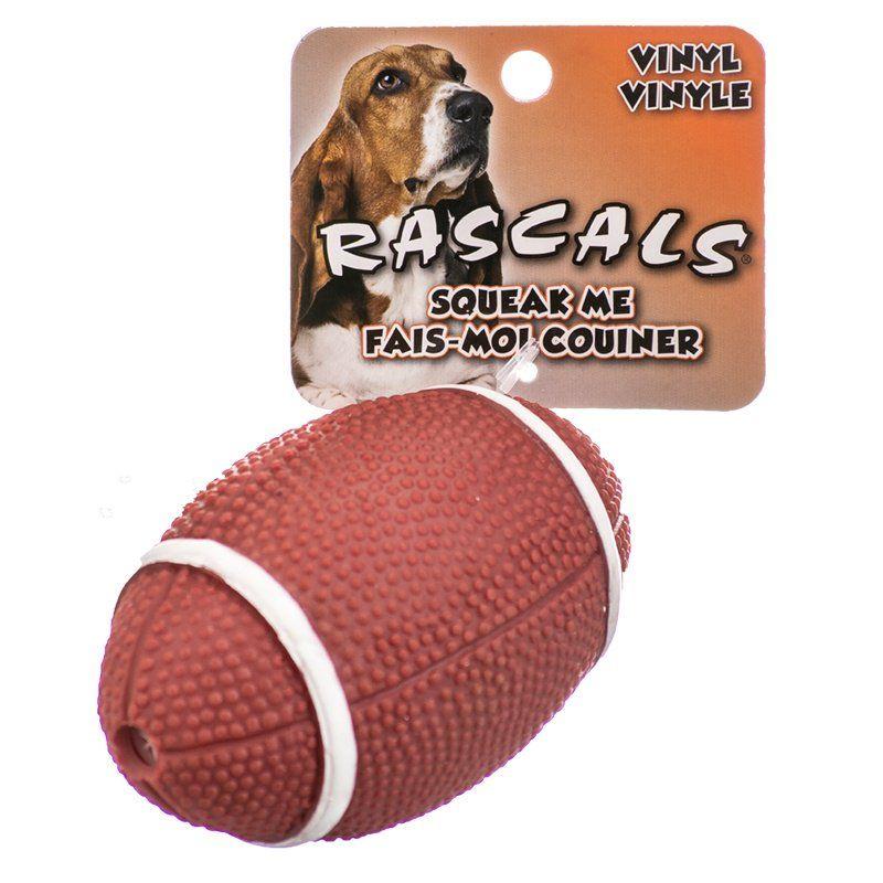 Coastal Pet Rascals Vinyl Football Dog Toy Toys Vinyl