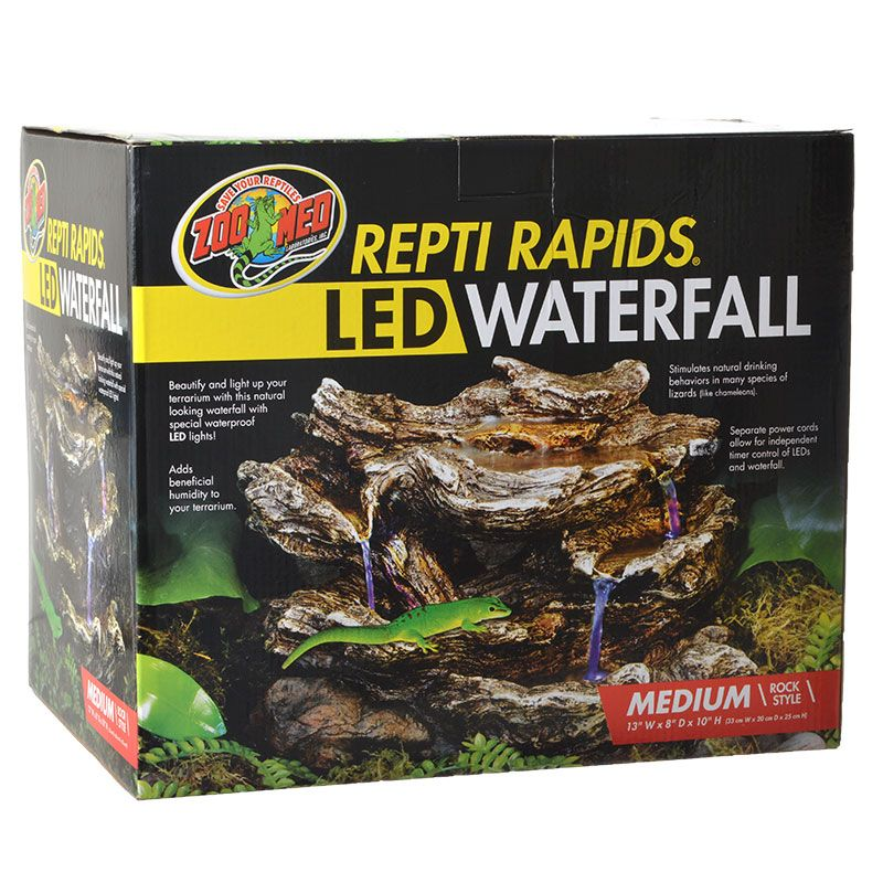 Zoo Med Zoo Med Repti Rapids Led Waterfall Rock Style
