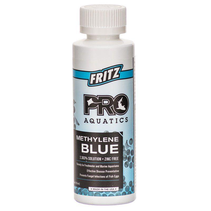 Fritz aquatics fritz pro aquatics methylene blue for Methylene blue fish