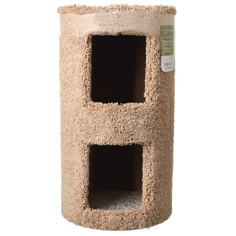 North American Pet Products Classy Kitty 2 Story Cat Condo