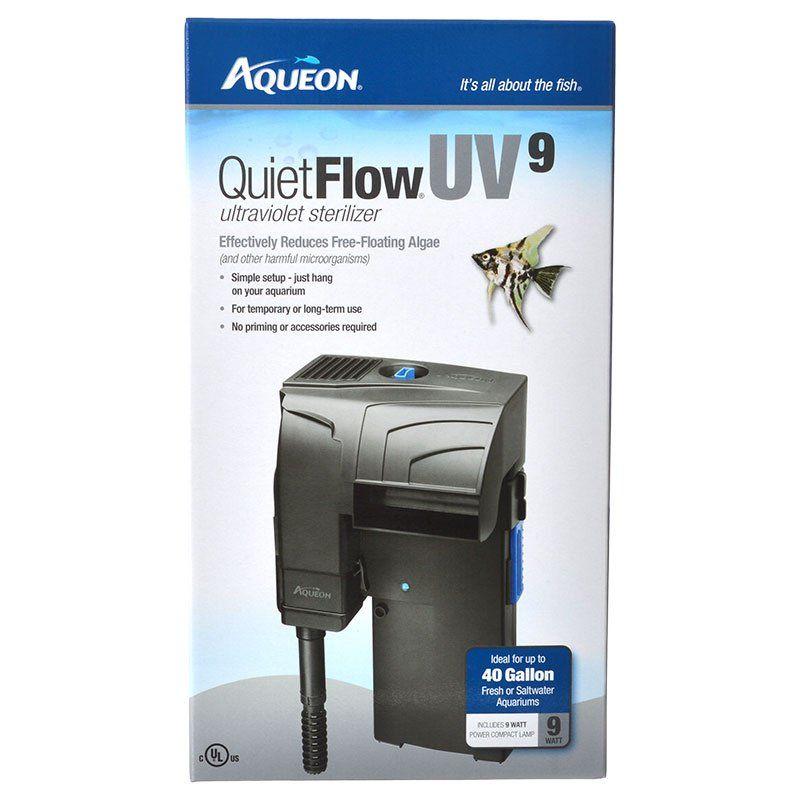 aqueon aqueon quietflow uv sterilizer power filter uv sterilizers. Black Bedroom Furniture Sets. Home Design Ideas