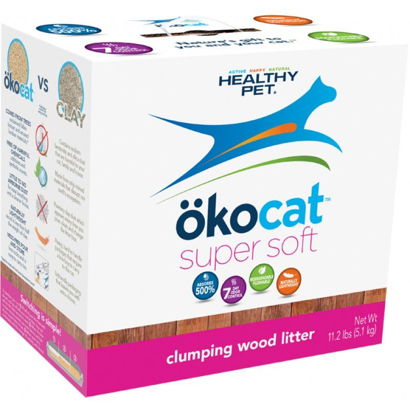 Carefresh Healthy Pet Okocat Soft Step Clumping Wood