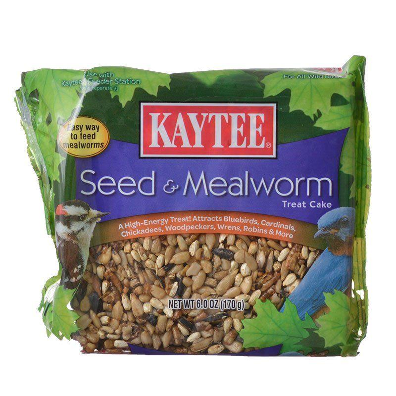 Kaytee Seed Mealworm Treat Cake