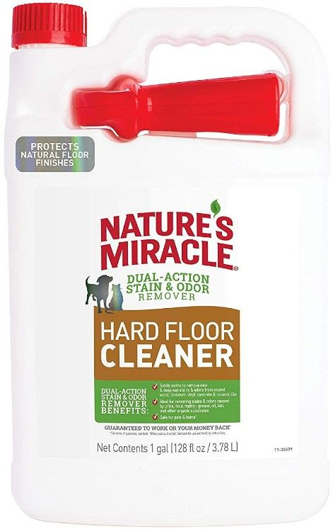 Nature S Miracle Hard Floor Cleaner  Gallon