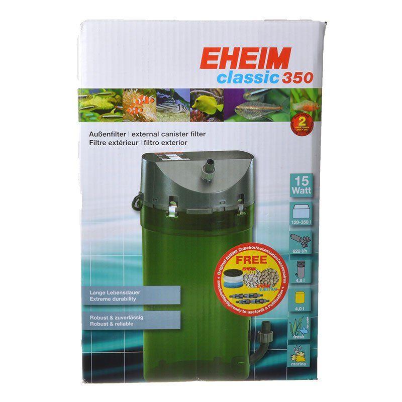 eheim eheim classic 350 external canister filter filters canister external. Black Bedroom Furniture Sets. Home Design Ideas