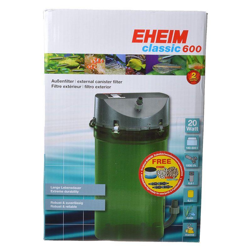 eheim eheim classic 600 external canister filter filters canister external. Black Bedroom Furniture Sets. Home Design Ideas