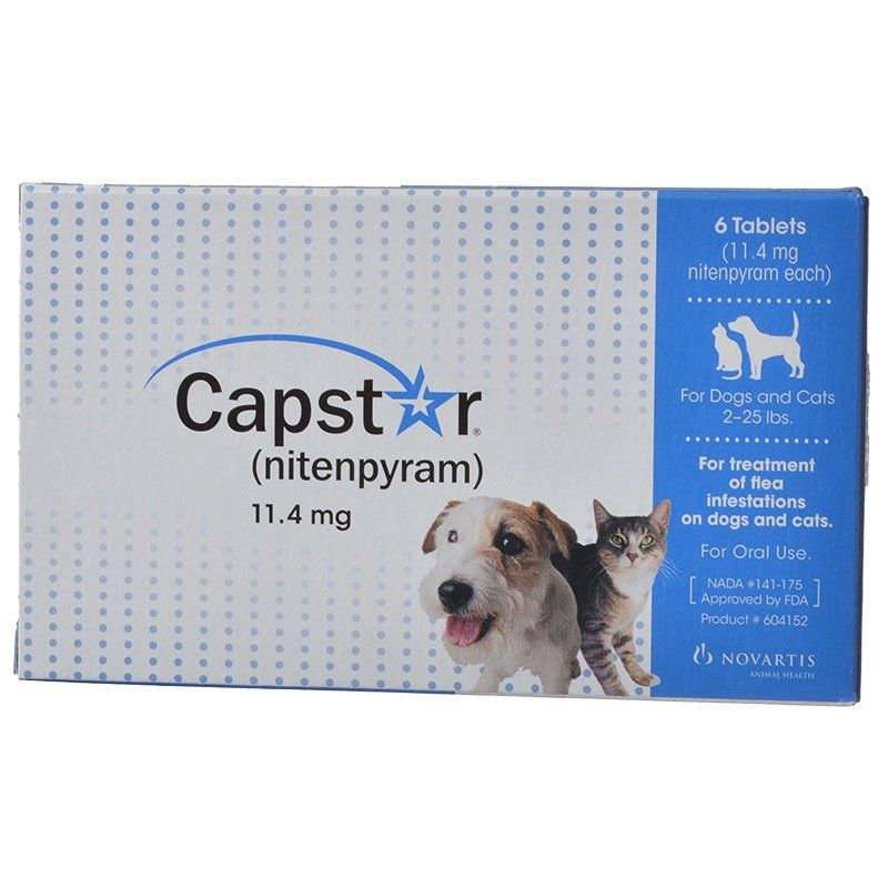 Capstar Flea Tablets For Dogs And Cats   Lbs