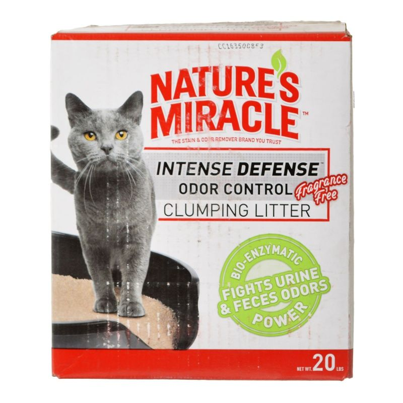Nature S Miracle Intense Defense Clumping Cat Litter