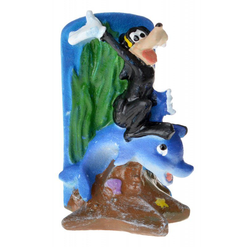 Penn Plax Penn Plax Goofy Amp Dolphin Resin Ornament Ornaments
