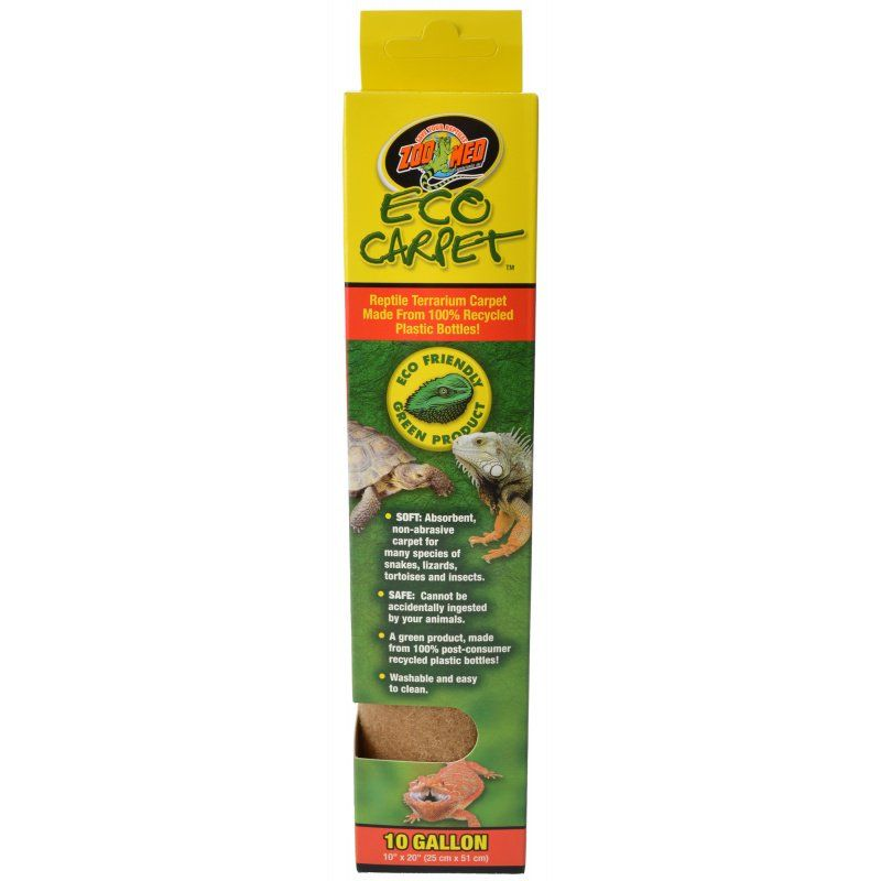 Zoo Med Zoo Med Eco Carpet Reptile Carpet Tan Cage Carpets