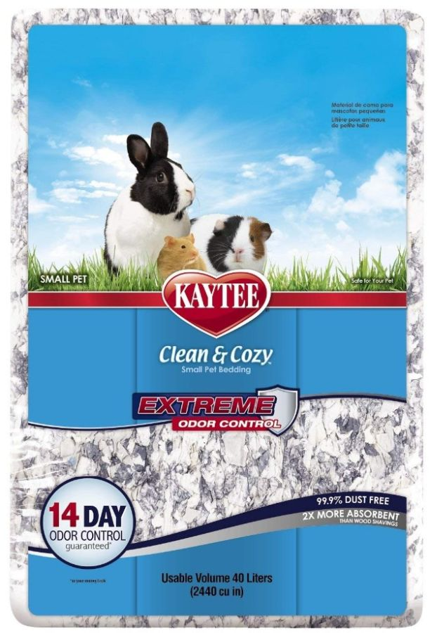Kaytee Clean & Cozy Extreme Odor Control Small Pet Bedding