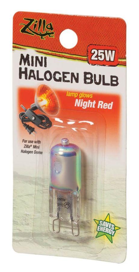 Zilla Zilla Mini Halogen Bulb Night Red Lighting