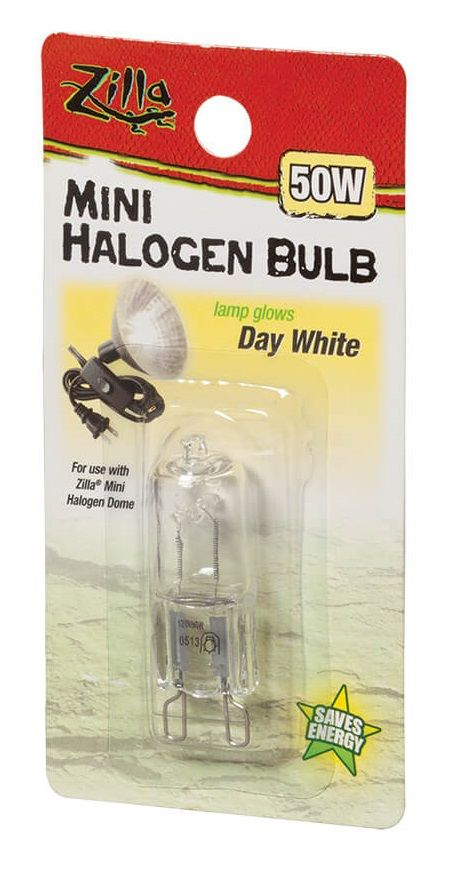 Zilla Zilla Mini Halogen Bulb White Lighting Incandescent