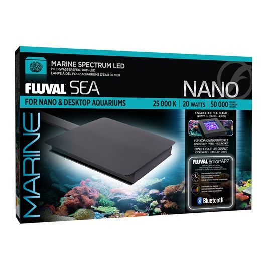 fluval fluval sea marine bluetooth led nano aquarium light lighting accessories