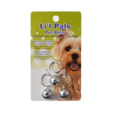 Li'l Pals Li'l Pals Pet Bells - Silver
