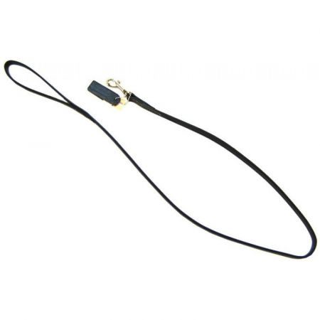 Circle T Leather Circle T Leather Lead  - 4' Long - Black
