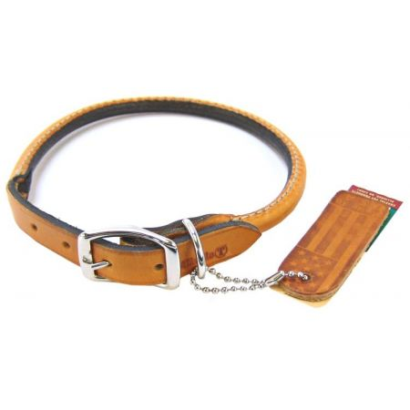 Circle T Leather Round Collar - Tan alternate view 4