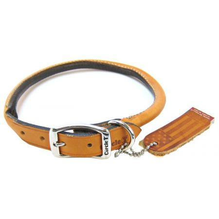 Circle T Leather Round Collar - Tan alternate view 5