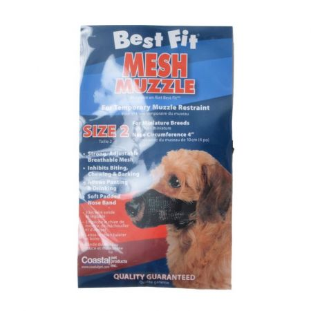 Coastal Pet Nylon Fabridog Best Fit Muzzle