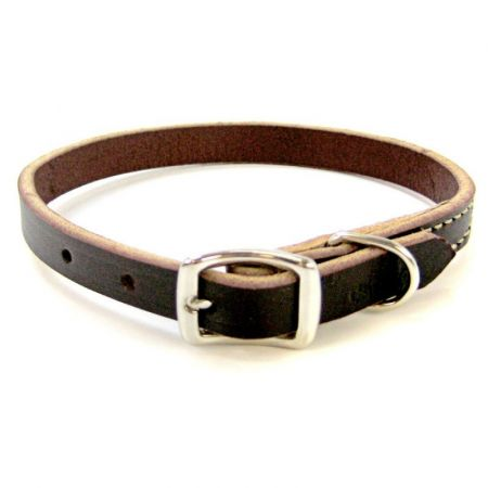 Circle T Latigo Leather Town Collar alternate view 1