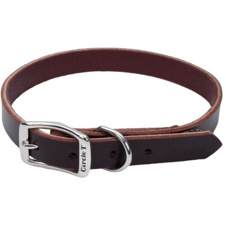 Circle T Latigo Leather Town Collar alternate view 4