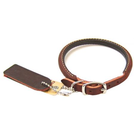 Circle T Latigo Leather Round Collar alternate view 3