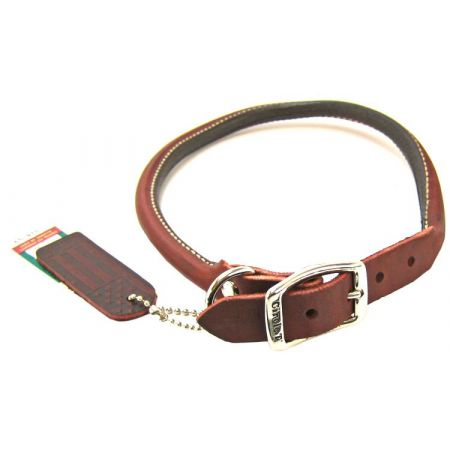 Circle T Latigo Leather Round Collar alternate view 6