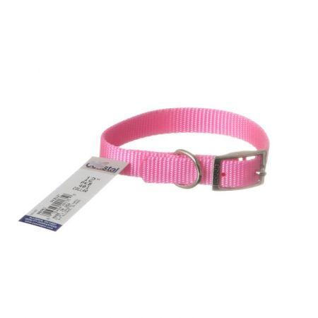 Coastal Pet Single Nylon Collar - Bright Pink