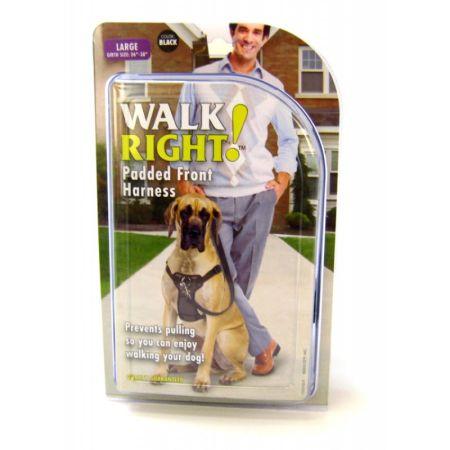 Coastal Pet Coastal Pet Walk Right Padded Harness - Black