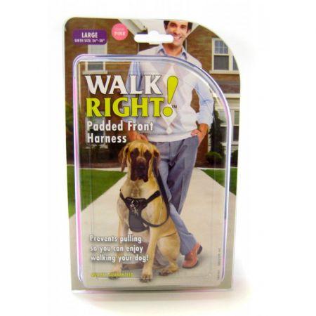 Coastal Pet Coastal Pet Walk Right Padded Harness - Bright Pink