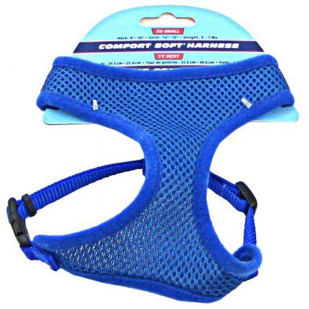 Coastal Pet Coastal Pet Comfort Soft Adjustable Harness - Blue