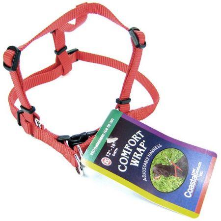 Tuff Collar Tuff Collar Comfort Wrap Nylon Adjustable Harness - Red