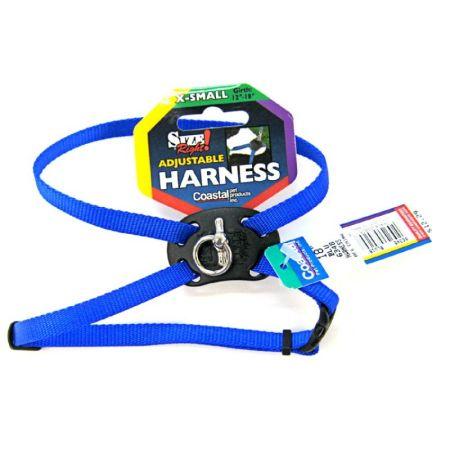 Coastal Pet Coastal Pet Size Right Adjustable Nylon Harness - Blue