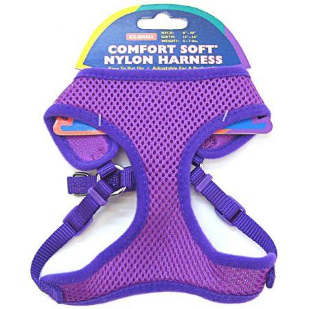 Coastal Pet Coastal Pet Comfort Soft Nylon Adjustable Harness - Orchid