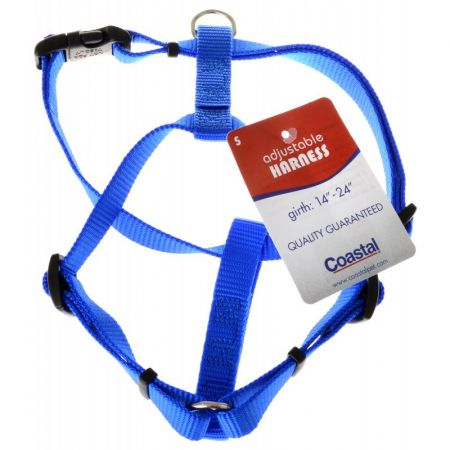 Tuff Collar Tuff Collar Nylon Adjustable Harness - Blue