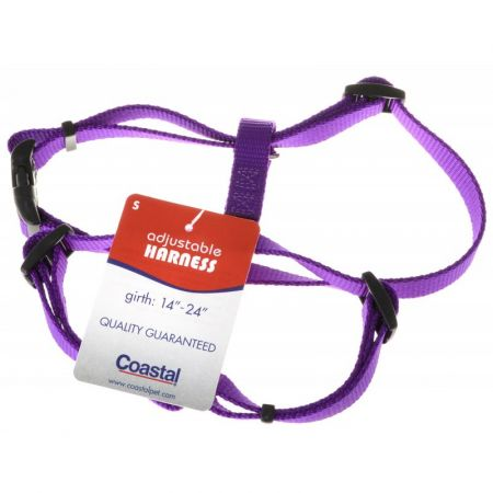 Tuff Collar Tuff Collar Nylon Adjustable Harness - Purple