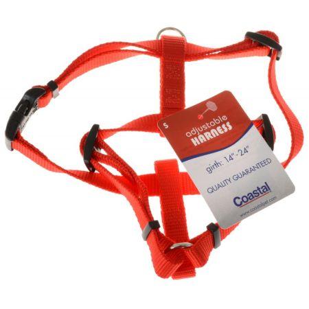 Tuff Collar Tuff Collar Nylon Adjustable Harness - Red
