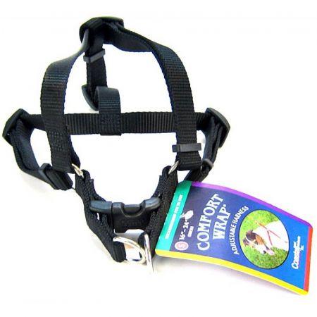 Tuff Collar Tuff Collar Nylon Adjustable Comfort Harness - Black