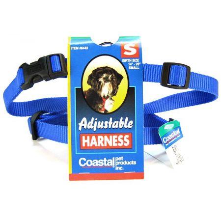 Tuff Collar Tuff Collar Nylon Adjustable Comfort Harness - Blue