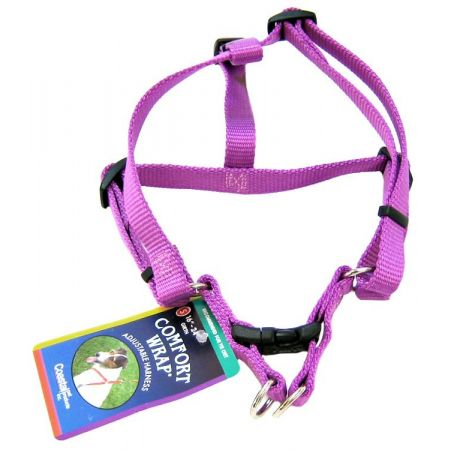 Tuff Collar Tuff Collar Nylon Adjustable Comfort Harness - Orchid