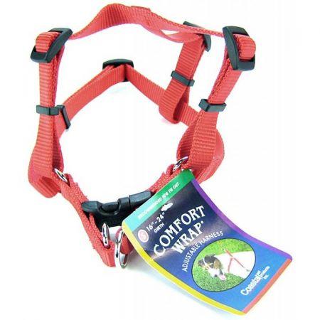Tuff Collar Tuff Collar Nylon Adjustable Comfort Harness - Red
