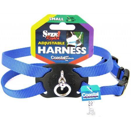 Coastal Pet Coastal Pet Size Right Nylon Adjustable Harness - Blue
