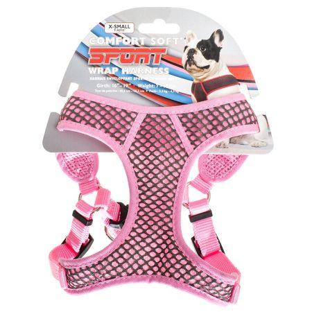 Coastal Pet Coastal Pet Sport Wrap Adjustable Harness - Pink