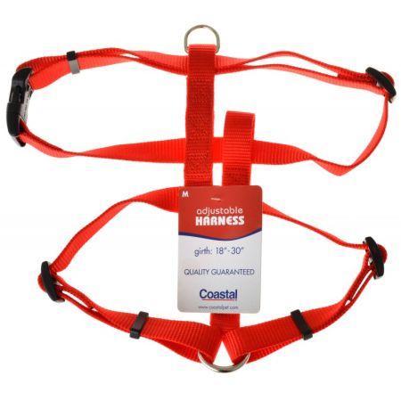 Coastal Pet Coastal Pet Nylon Adjustable Harness - Red