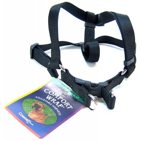 Coastal Pet Coastal Pet Comfort Wrap Adjustable Harness - Black