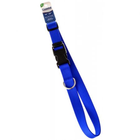 Tuff Collar Nylon Adjustable Collar - Blue alternate view 3