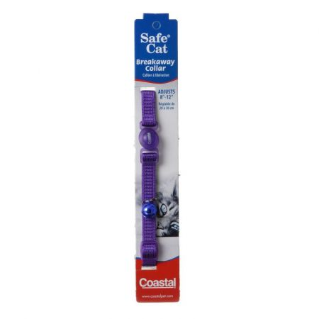 Coastal Pet Coastal Pet Safe Cat Nylon Adjustable Breakaway Collar - Purple