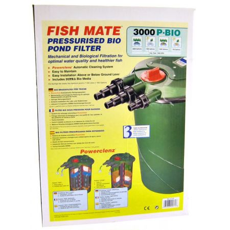 Fish Mate Fish Mate Bio Pond Filter With Powerclenz